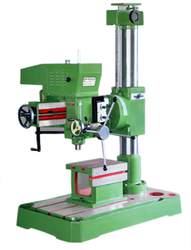 Semi-Automatic And Manual Radial Drill Machine 25/650, Warranty: 1 Year