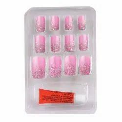 Bonjour Paris False Nails - Quick Stick Artificial Nail Set with Glue, 12 pc Set 05