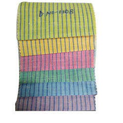 Striped Cotton Shirting Fabric
