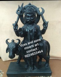 Black Stone Shani Dev Statue