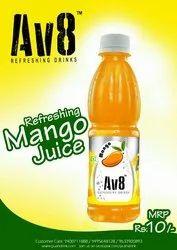 Av8 Mango Juice, 1 Pack Contains: 30, Packaging Type: Bottles