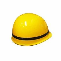 Yellow FRP Concord Firemen Helmet, For Fire And Rescue Teams, Size: Medium