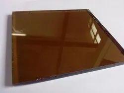 Brown Reflective Glass