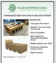 Corrugated Bed For Covid 19 Isolated Patient