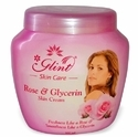 Private Labeling Skin Cream Glint Rose & Glycerin Cream, Packaging Type: Cream Jar