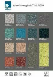 Altro Stronghold K-30 Slip Resilent PVC Homogeneous Safety Flooring, Thickness: 3 mm
