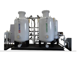 Automatic VPSA Oxygen Gas Plant, Capacity: 400 Cylinders Filling/day