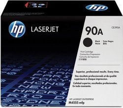 HP CE390A 90A Black Toner Cartridge