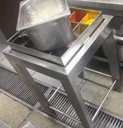 Stainless Steel Masala Trolley