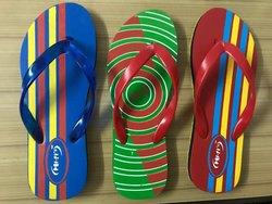 Men Causal Wear Rubber Slipper, Size: 6 - 9