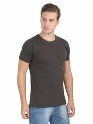 Plus Fit Cotton Round Neck T-shirt