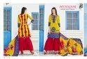 Mehnoor Karachi Cotton Printed Dress Material Catalog Collection