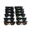 Male Black, Brown Designer Wayfarer Sunglasses, Size: Free