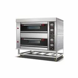 Gas 2 deck 6 Tray Oven