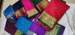 Ladies Banarasi Light Saree