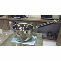 Stainless Steel Tea Pan, Material Grade: SS202,SS304, Capacity: 500 Ml,1l