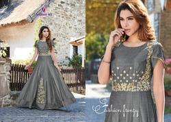 Arihant Nx Amorina Series 22001-22005 Stylish Party Wear Satin Suit