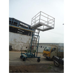Wheel Base Industrial Ladder