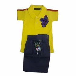 Summer Namo Clothing Baby School Uniform, Packaging Type: Packet