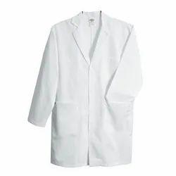 Full Sleeve White Cotton Doctor Apron
