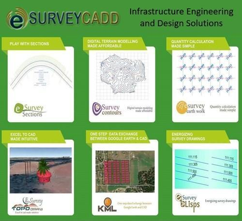 Survey and Mapping Software - Esurvey Civil Design Survey