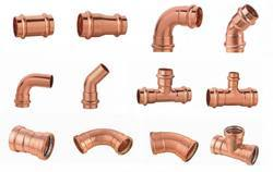Plumbing Copper Fittings, Size: 1/4 inch-1 inch