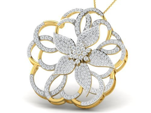 pendant diamond yellow jewellery p c jewellers gold pendants chandra price