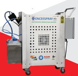 ENCEESPRAY Electric Compressor Based Electrostatic Disinfectant Spraying Machine, Capacity: 10 to 15 liters