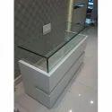 Wooden Glass Counter