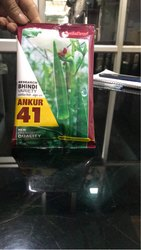Hybrid Green Ankur 41 Bhindi Seed, For Agriculture
