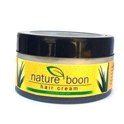 Nature Boon Herbal Hair Cream, Plastic Container, 50g