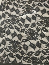 Flower Designed Net Fabrics