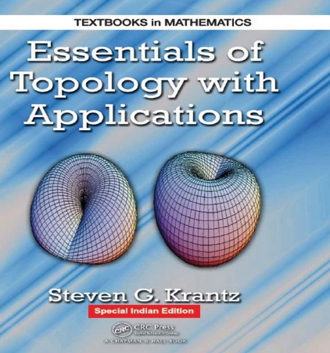 Essentials Of Topology With Applications Book