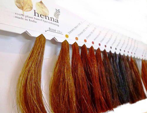 Natural Henna Hair Colors