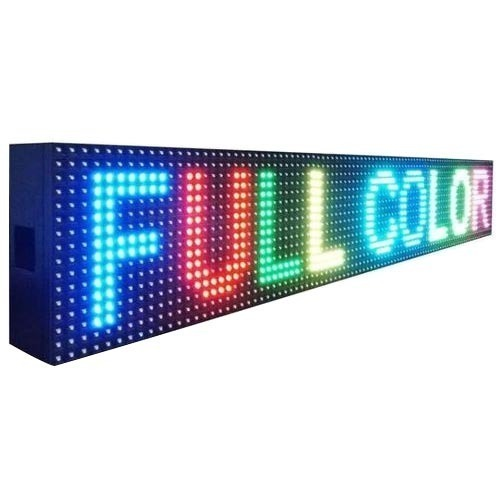 Full Colour Moving LED Display