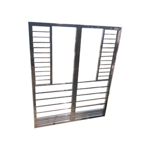 SS Window Grill Frame at Rs 300 /square feet | Stainless Steel ...