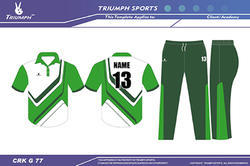 Cricket Practice Uniforms