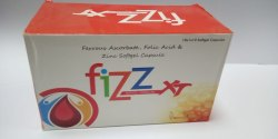 Ferrous Ascorbate, Folic Acid & Zinc Softgel