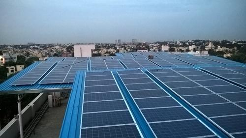Solar Mounting Structure Roof Top Solar Structure