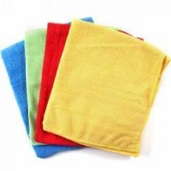 Microfiber Multicolor Towel, Size: 30x30
