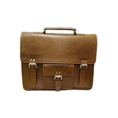 21435e69c3c2 Mens Leather Office Bag at Rs 2000  piece