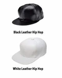 Leather Hip Hop Caps