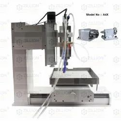 Small CNC 4 axis with Mach4 USB connection