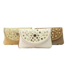 Mirror Work Ladies Clutch