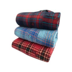 Party Wear Mens Check Cotton Shirts
