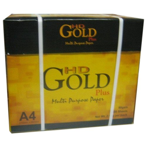 HD GOLD White Copier Paper, Gsm: 80