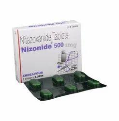 NITAZOXANIDE 500 MG NIZONIDE TABLET