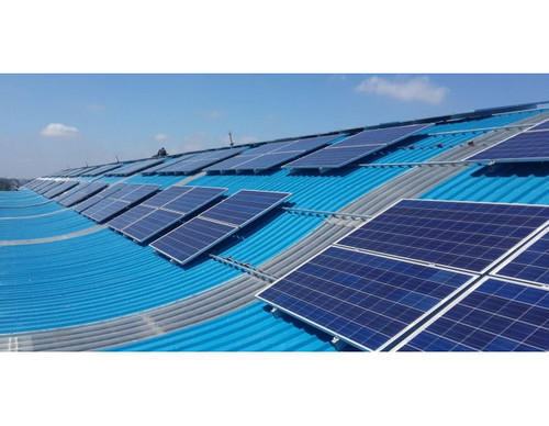 Aluminum Roof Top Solar Mounting Structures, Power: 25 - 55 W