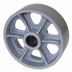 Cast Iron Crane Wheel