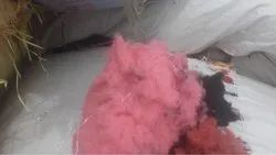 Pink color cotton Waste